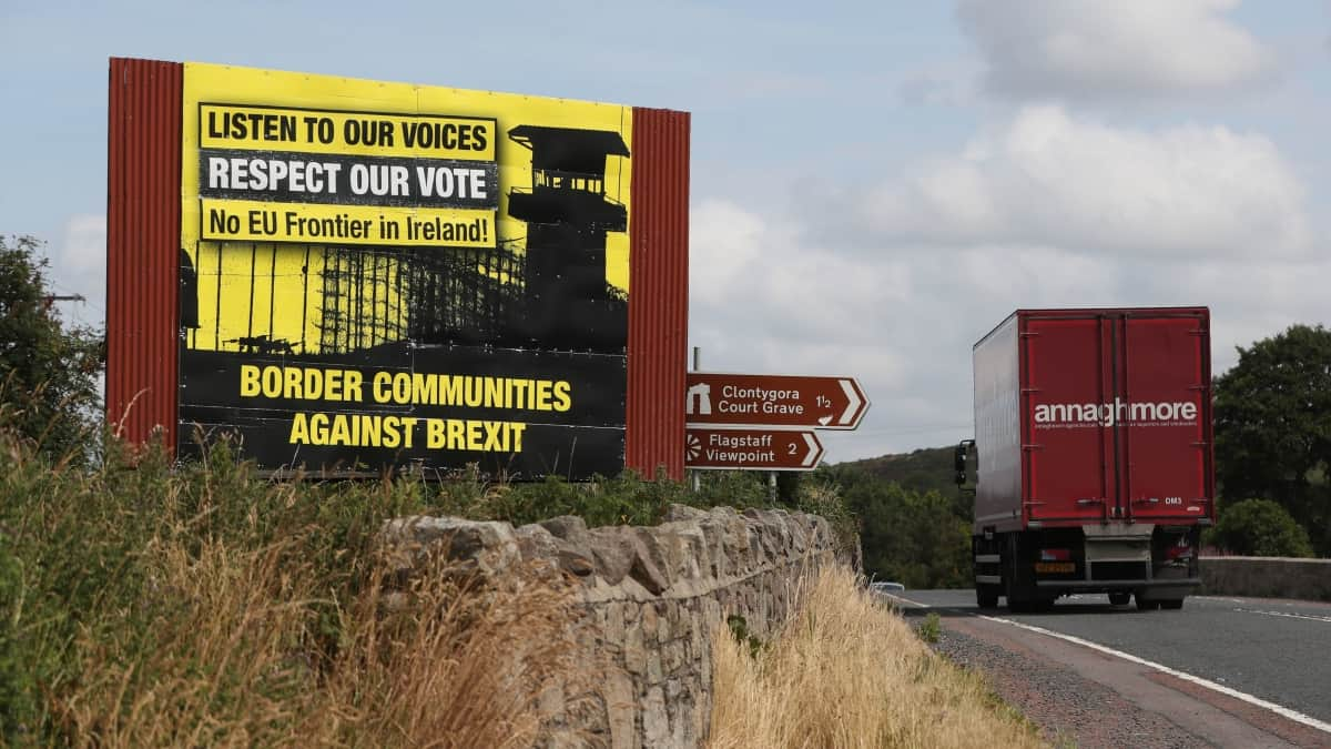 Northern Ireland border at stake in event of no-deal Brexit