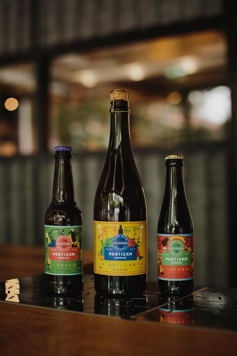 Guinness Open Gate Brewery x Partizan