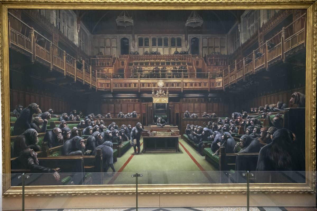 Banksy 's Devolved Parliament