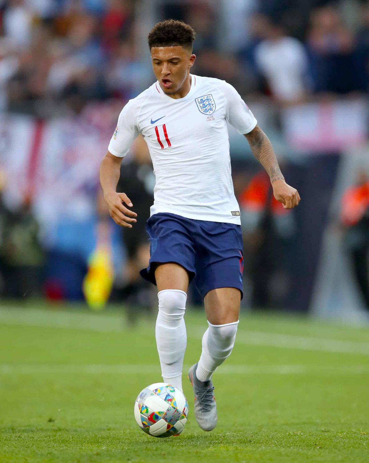 England's Jadon Sancho