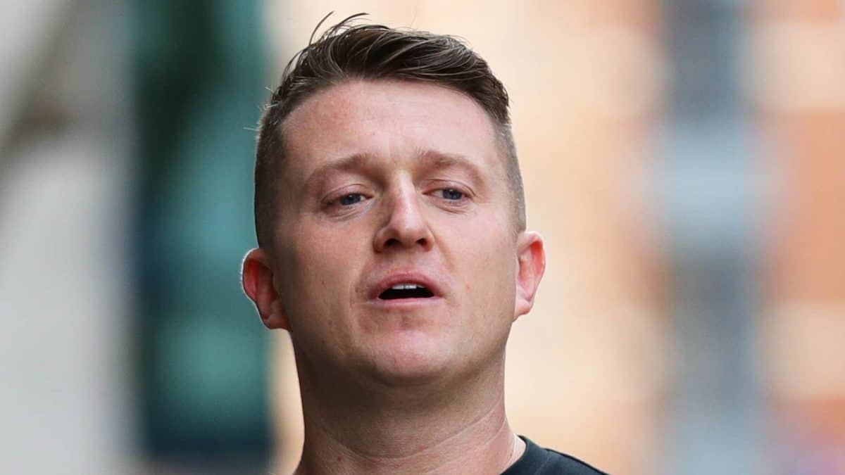 Tommy Robinson released