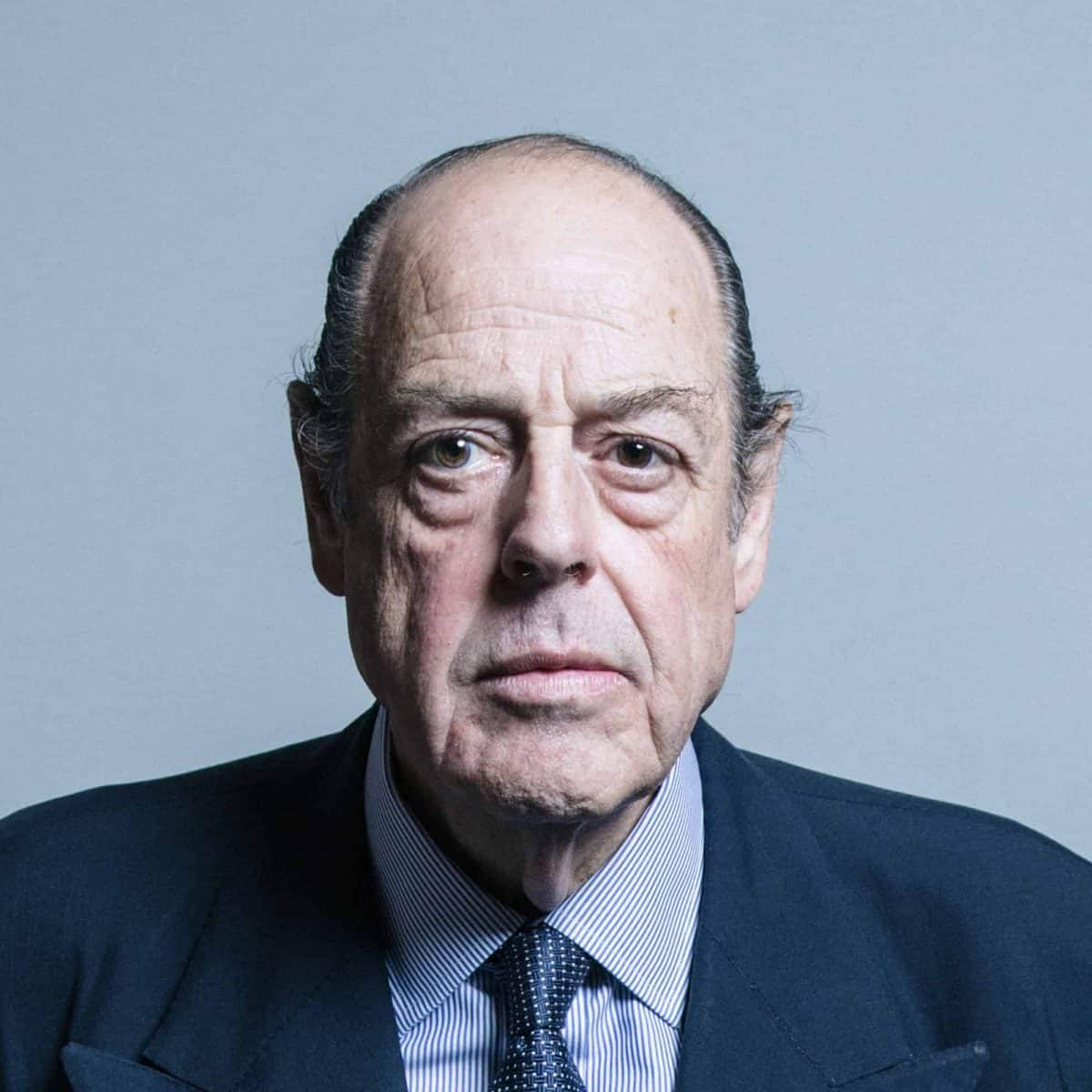 Nicholas Soames : UK Parliament official portrait 2017.