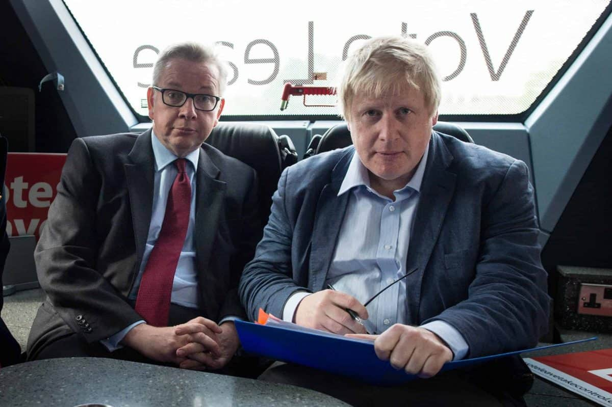 Gove and Johnson, Vote Leave (PA)