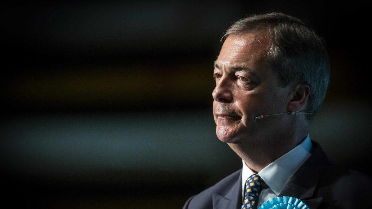sad Nigel Farage