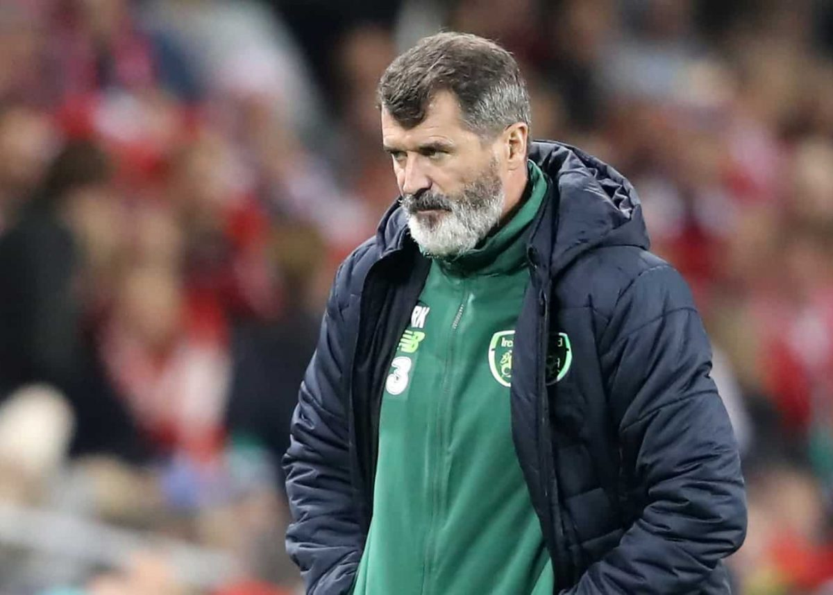 Republic of Ireland assistant manager Roy Keane during the UEFA Nations League Group B4 match at the Aviva Stadium, Dublin.