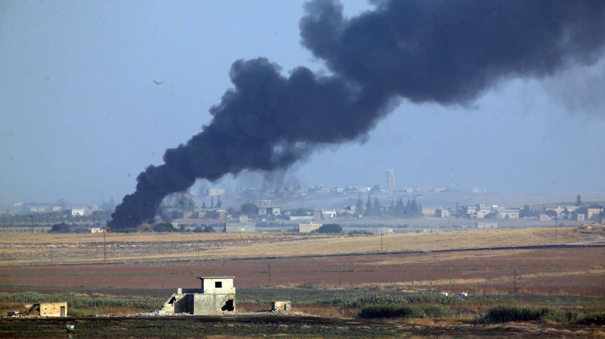 Turkish assault on Kurds in Syria