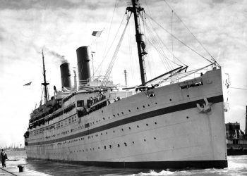 File photo dated 28/03/54 of the Empire Windrush ship. Credit;PA