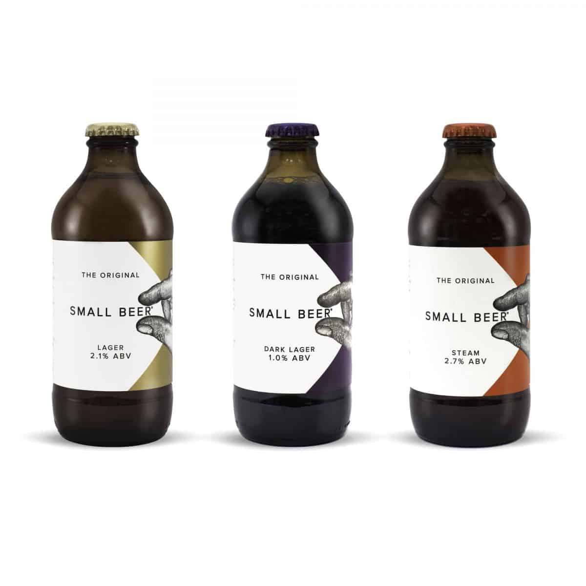 Small Beer Co Bottles