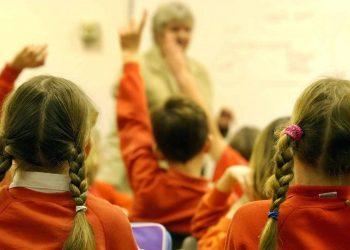 Pupils in a school (PA)