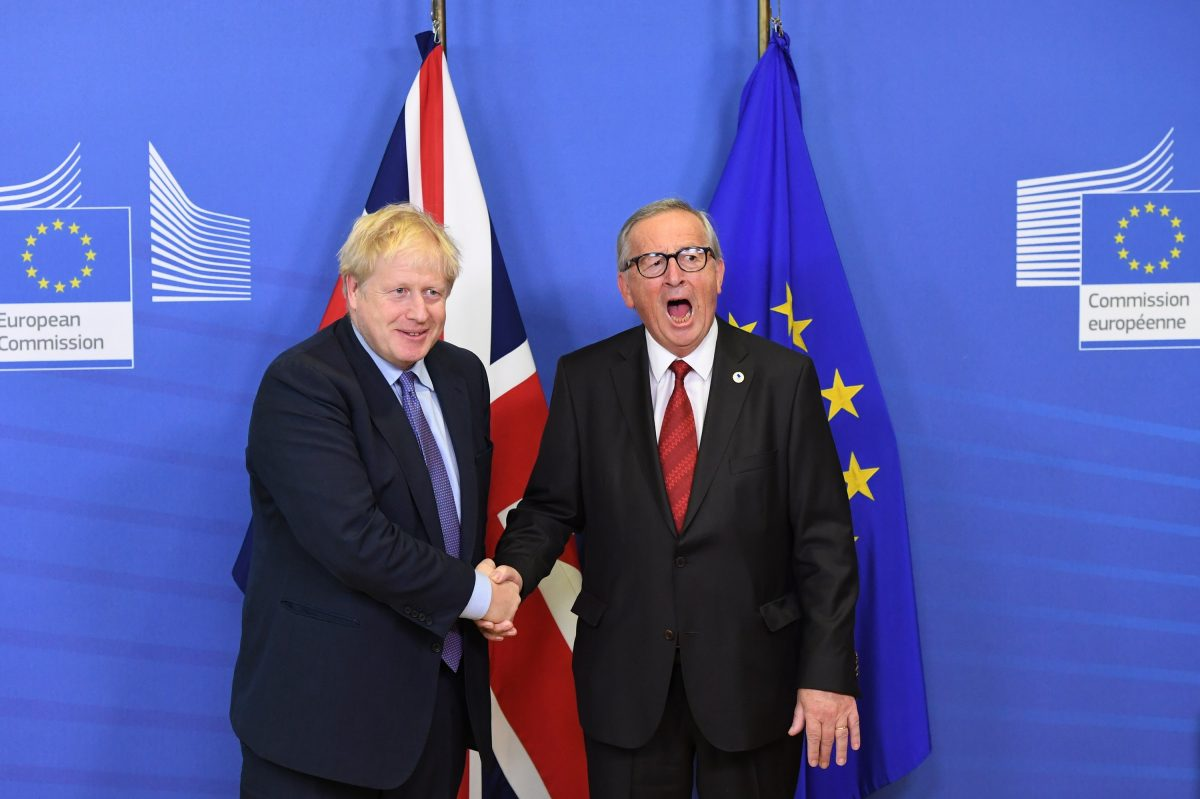 Johnson and Juncker