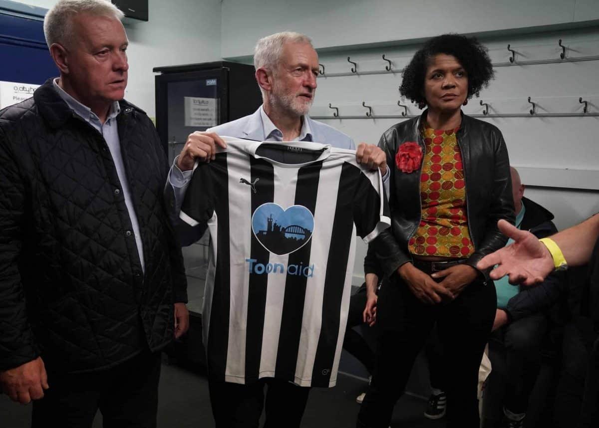 Corbyn Newcastle