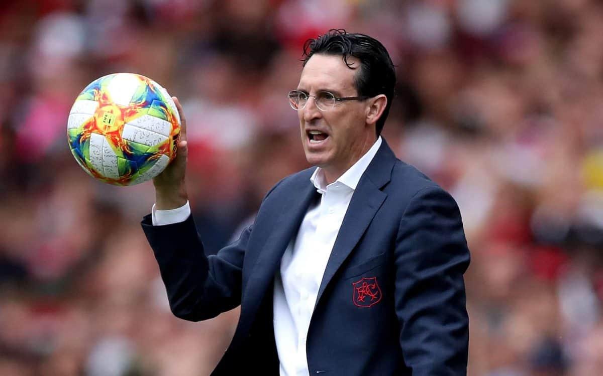 Arsenal's ex manager Unai Emery Credit;PA
