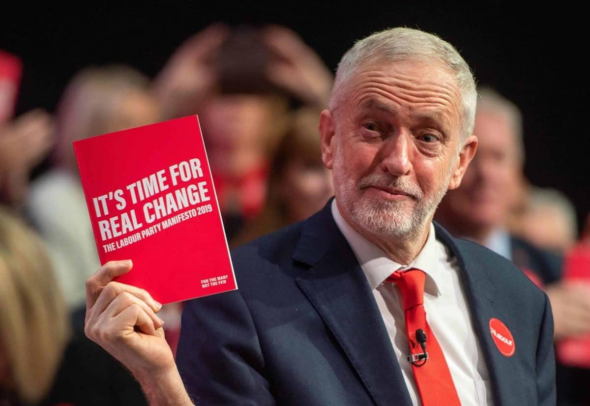 Corbyn unveils Labour manifesto