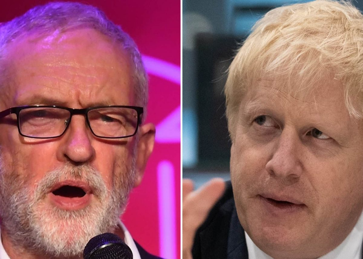 Corbyn /Johnson