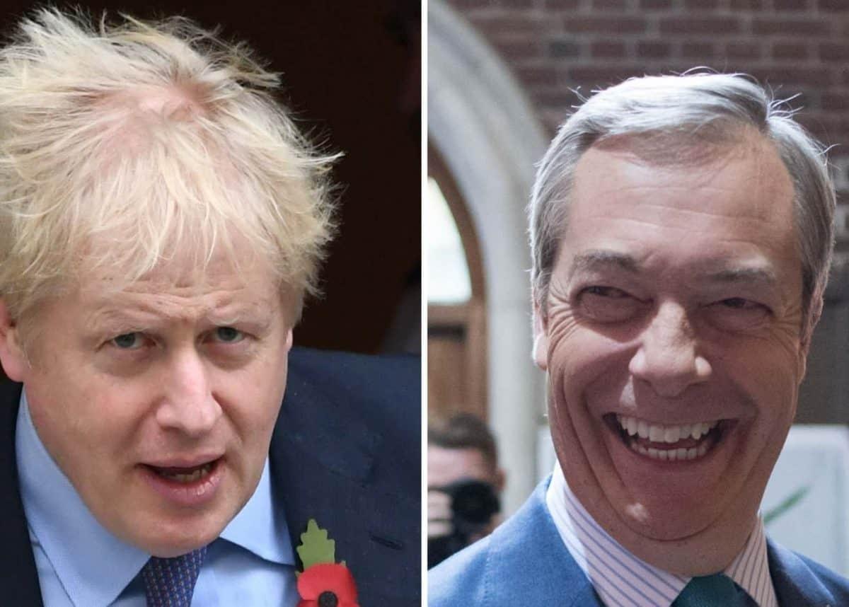 Boris Johnson / Nigel Farage