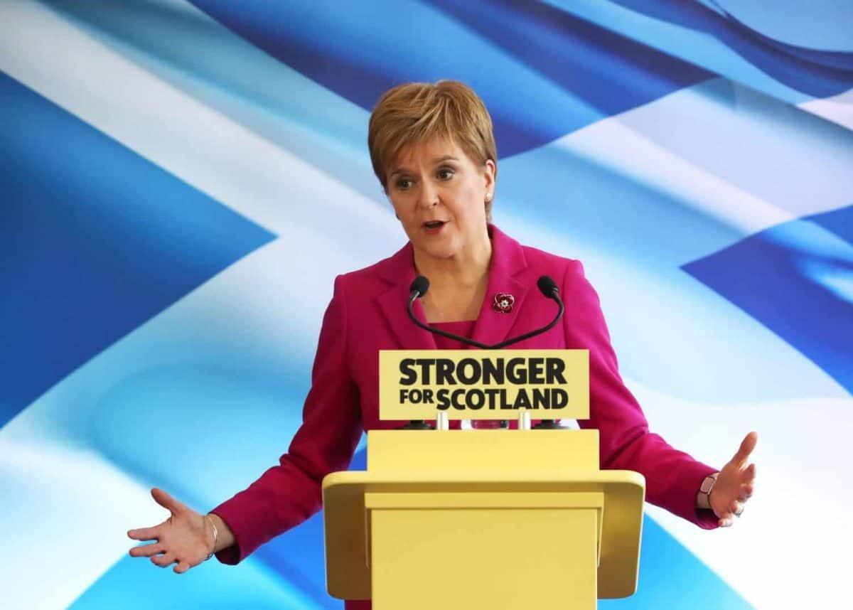 SNP leader Nicola Sturgeon (PA)
