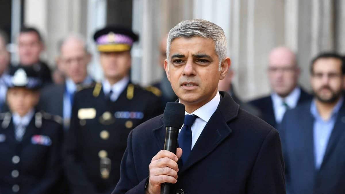 Sadiq Khan leading London Bridge vigil