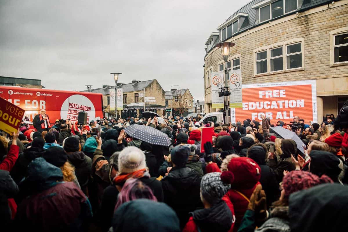 Corbyn rally