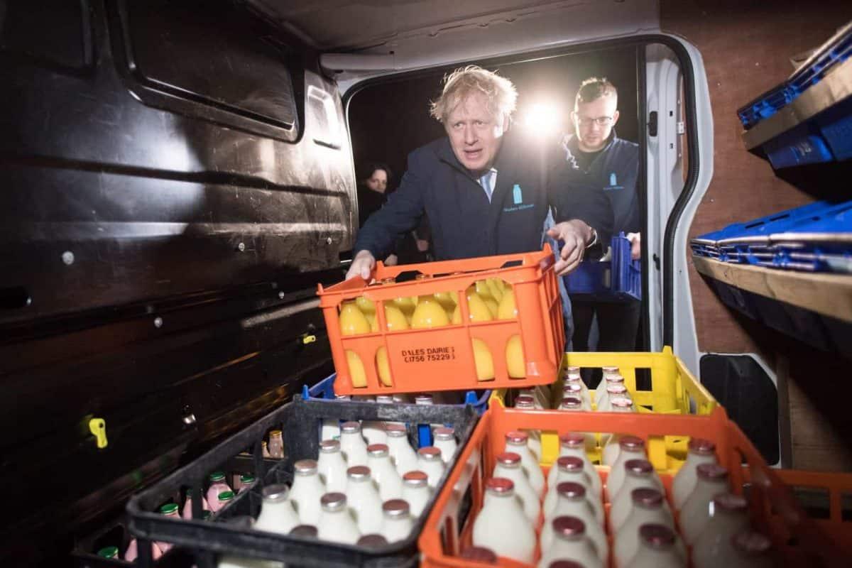 Boris Johnson was accused of bottling it (PA)