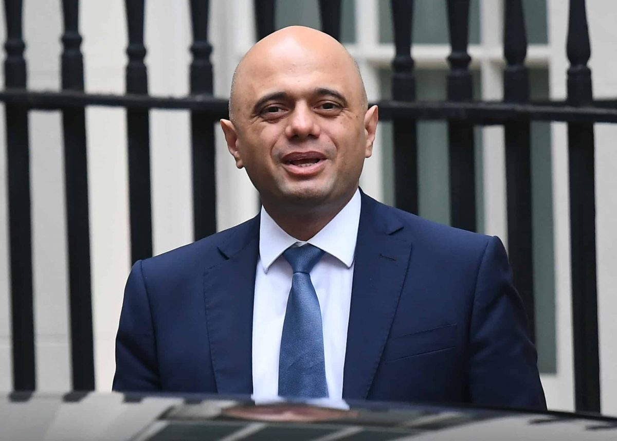 Chancellor of the Exchequer Sajid Javid who has been dealt a pre-Budget blow as official figures showed the first September hike in Government borrowing for five years.