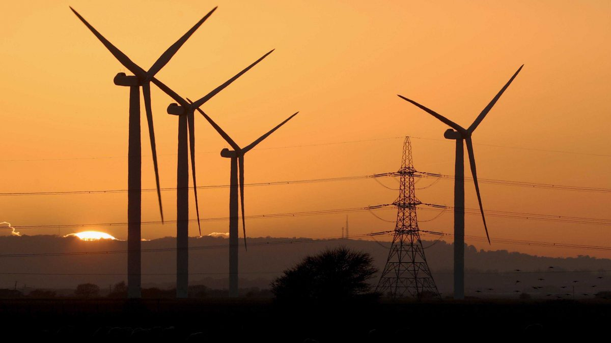 windmills renewable power