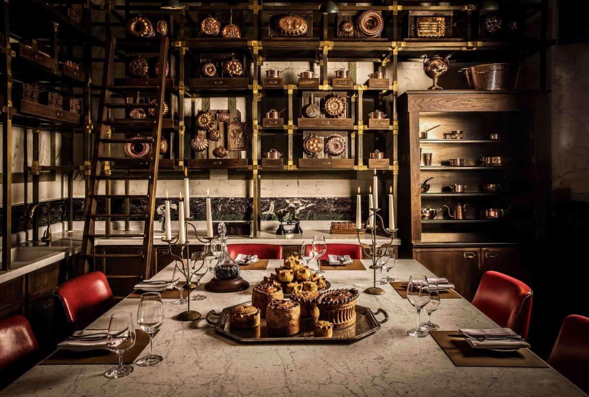 Tom Kerridge Holborn Dining Room The Pie Room PDR | ©John Carey
