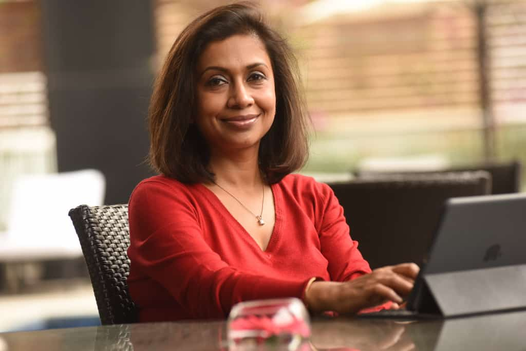 Anuranjita Kumar, author of Colour Matters?, is a respected HR professional and diversity equality campaigner. Picture copyright Anuranjita Kumar 2019