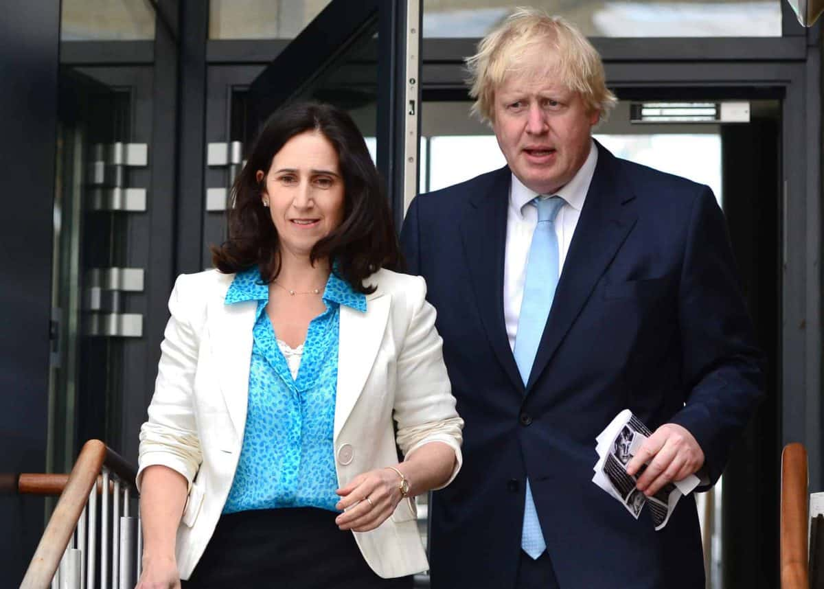 File photo dated 7/5/2015 of Boris Johnson and Marina Wheeler. The Prime Minister and estranged wife have reached an agreement relating to money following their separation two years ago, a family court judge in London has been told.