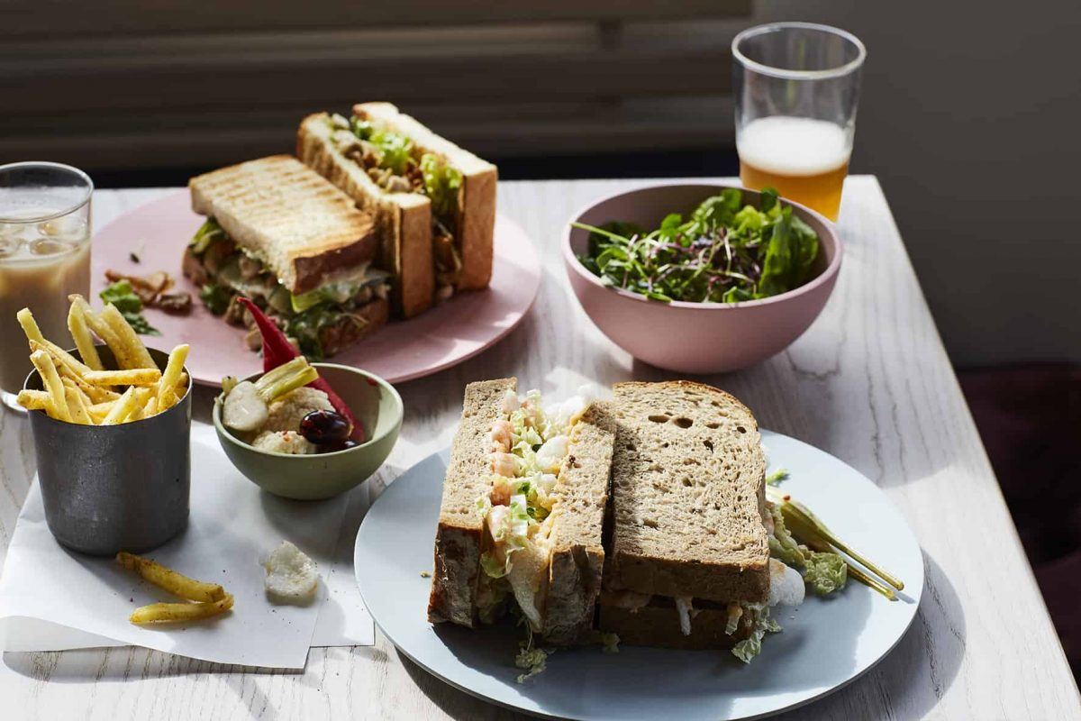 Sons + Daughters sandwiches covid-19 takeaway delivery