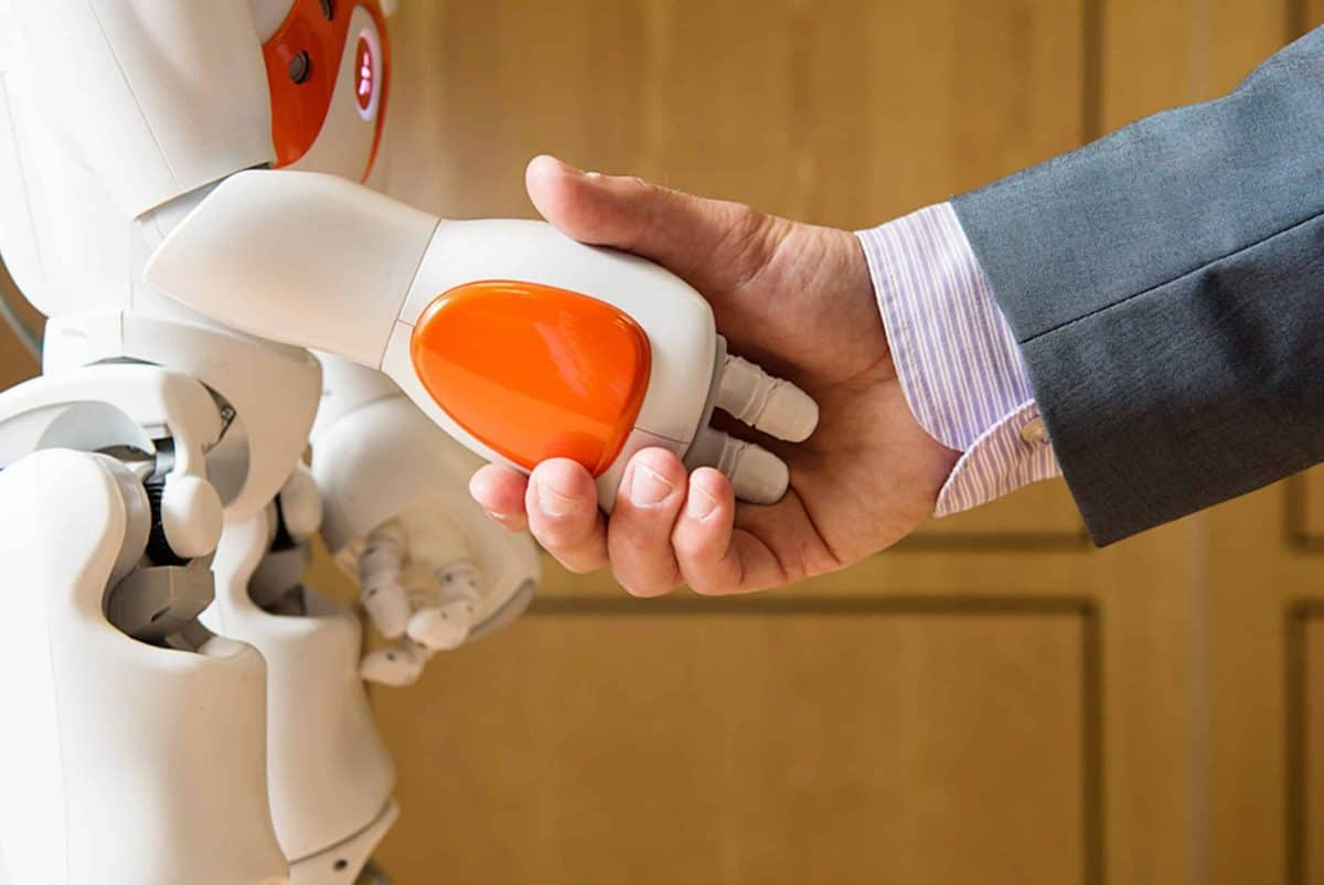 Undated handout photo issued by the University of Bath of a Nao Robot, as jobs will change rather than disappear over the next decade as robots are increasingly used in the world of work, a study says.