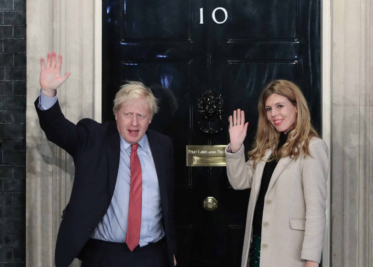 File photo dated 13/12/19 of Prime Minister Boris Johnson and his girlfriend Carrie Symonds arriving in Downing Street after the Conservative Party was returned to power in the General Election. Businesses in the UK are planning to spend £1.7 billion over the next two years after the Conservatives' victory in December's general election removed Brexit uncertainty, a survey has revealed.