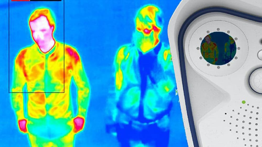 Credit;PA Undated handout photo of a thermal image of a person.