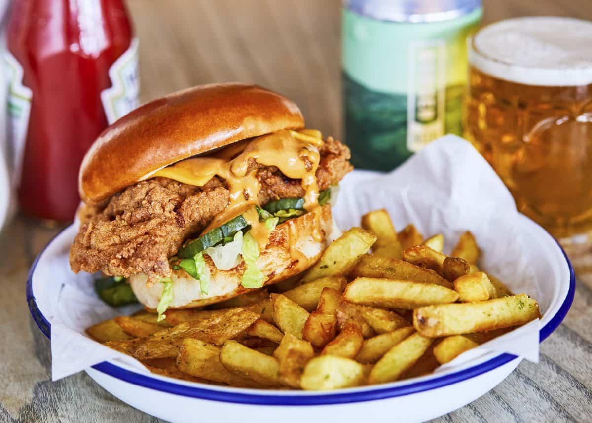 Honest Chicken - Chicken & Chips