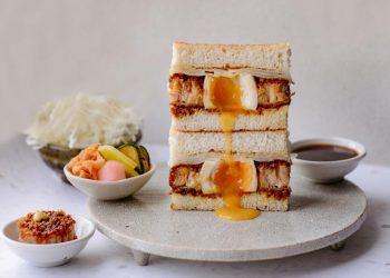Hakata Ramen katsu sando recipe   Photo: Lucky Pilgrim