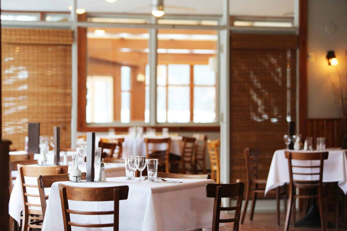 Empty restaurant no-shows
