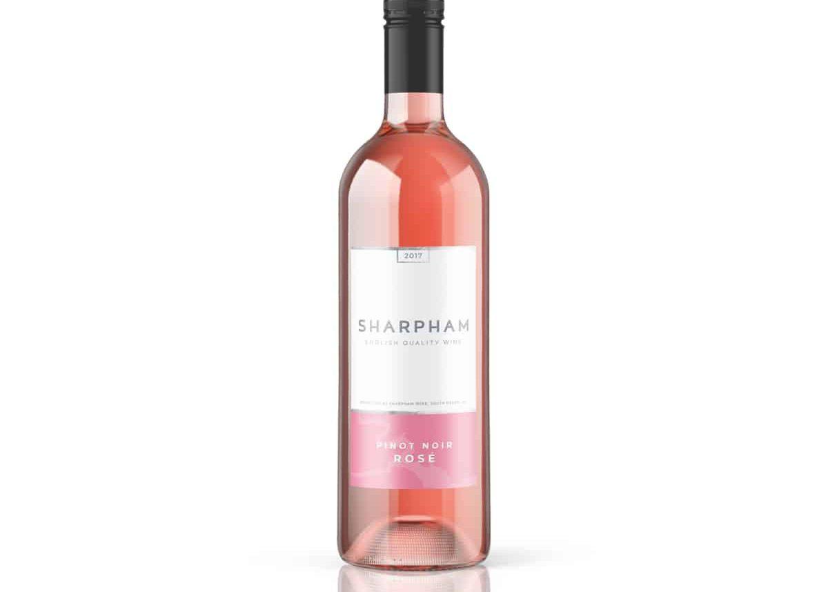 Sharpham Wine Pinot Noir Rosé 2017