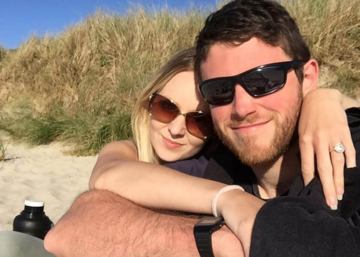 """Handout photo issued by Thames Valley Police of 28-year-old Pc Andrew Harper and his wife, Lissie. Harper's wife Lissie has released a tribute to him, calling him """"the kindest, loveliest, most selfless person"""" and adding: """"My darling boy I do not know how I will be able to survive without you."""" PC Harper died after being dragged under the wheels of a vehicle while responding to reports of a burglary in the Berkshire village of Bradfield, Southend, at 11.30pm on August 15."""