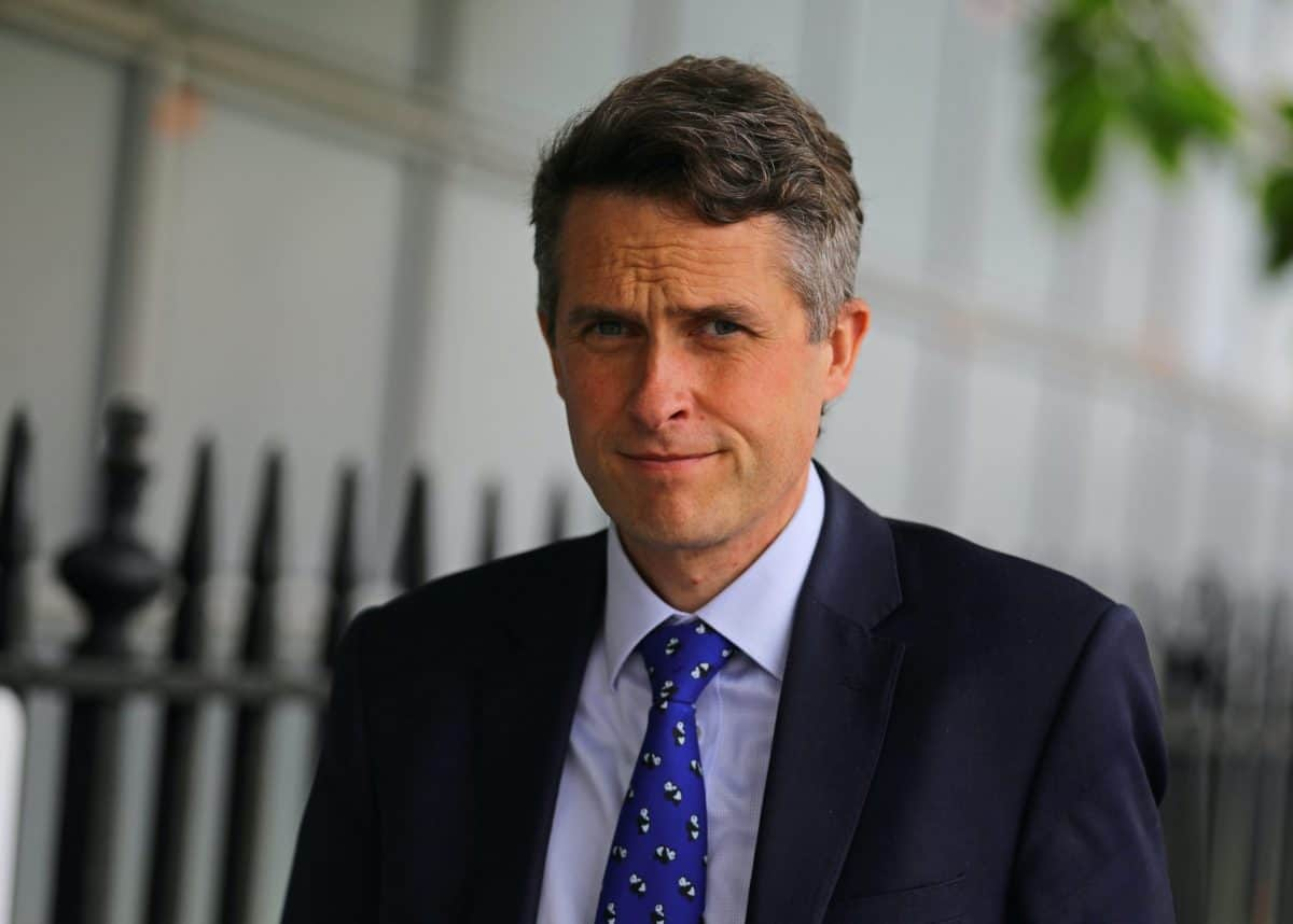 Gavin Williamson MP (PA)