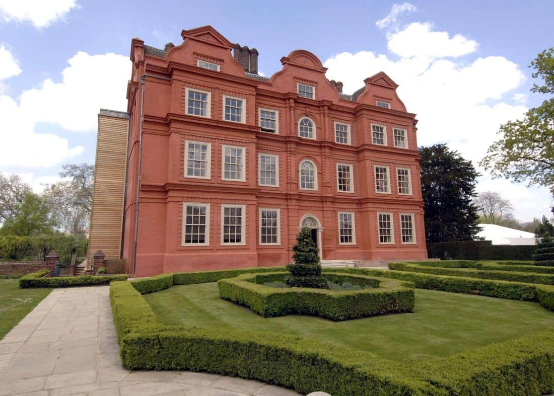 Kew Palace in London which was opened by the Prince of Wales.Credit;PA