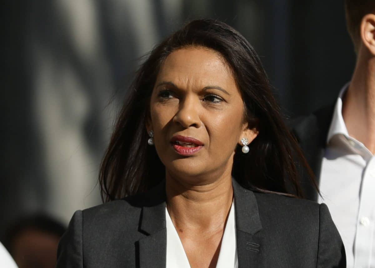 Gina Miller arrives at the Supreme Court, London, where judges are considering legal challenges to Prime Minister Boris Johnson's decision to suspend Parliament.