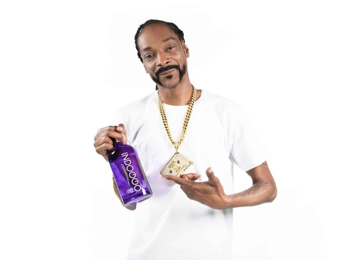 Snoop Dogg INDOGGO Gin bottle