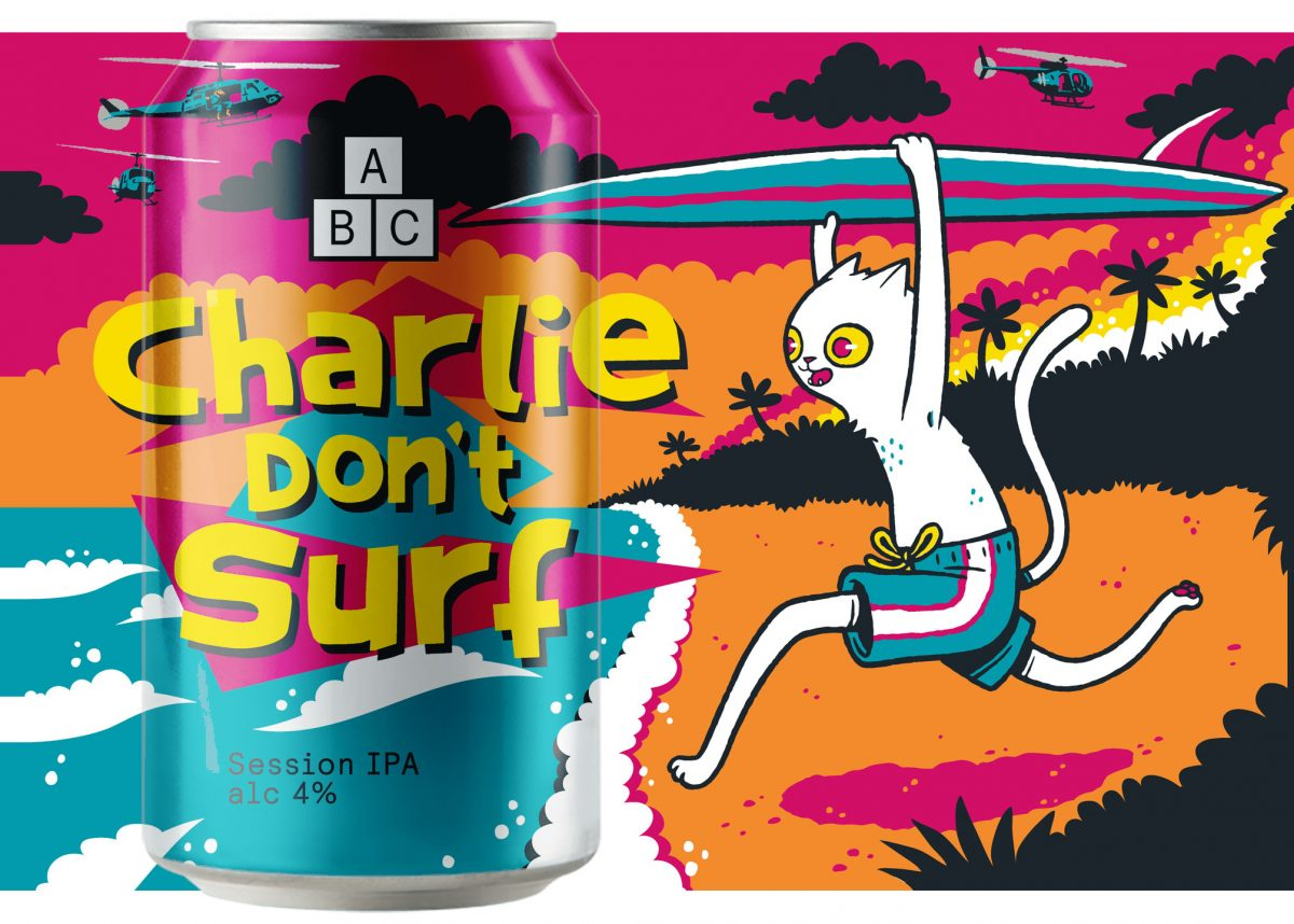 Alphabet Brewing Company Charlie Don't Surf