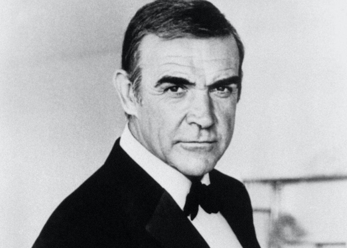 Undated library filer of Sir Sean Connery as James Bond. Sir Sean has beaten the likes of David Beckham and Bob Geldof to the accolade of great British hero.