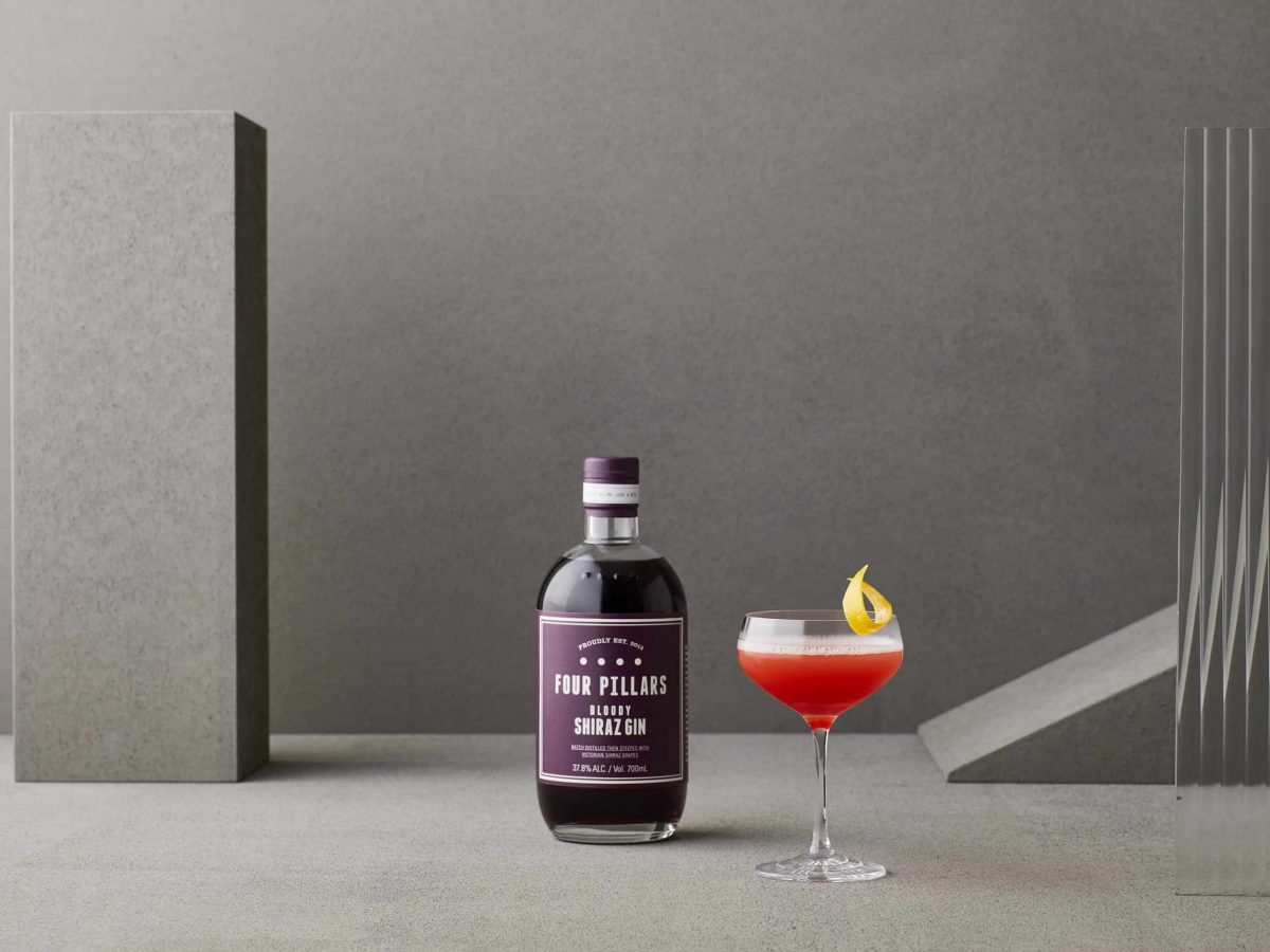 Four Pillars Gin Bloody Shiraz Bloody Jasmine_with_bottle_2020