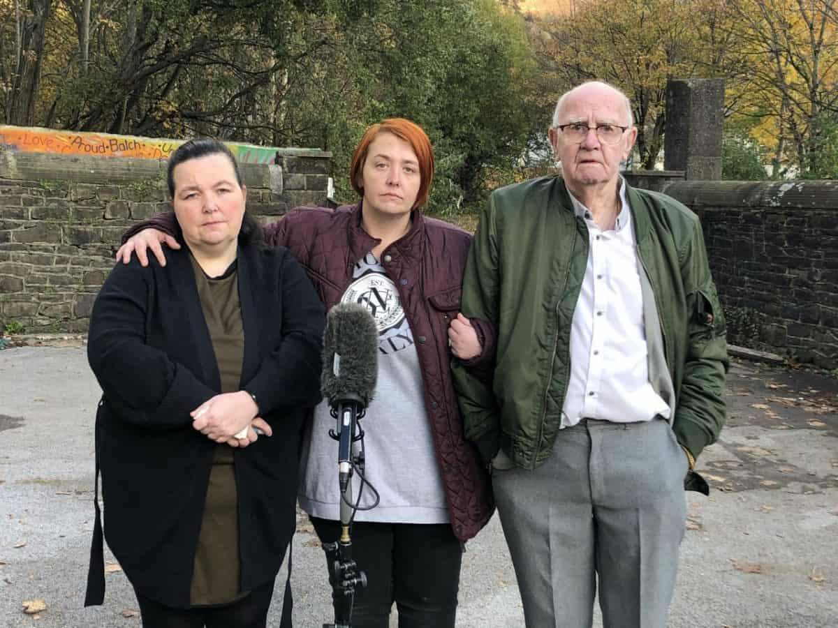 Undated handout photo issued by Channel 4 News of (left to right) Claire Lewis, Debbie Mountjoy and David Lewis, who have spoken of their devastation and urged people to take Covid-19 seriously after losing their mother and her two sons to the virus.