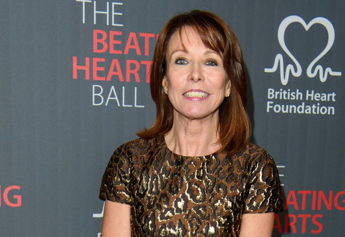 Kay Burley, attending the British Heart FoundationÕs Beating Hearts Ball, at The Guildhall in London, which raises funds for the BHF's life-saving research.