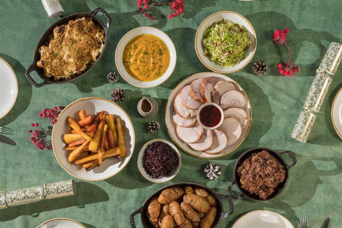 Ninth XMAS DIY Christmas Food Delivery