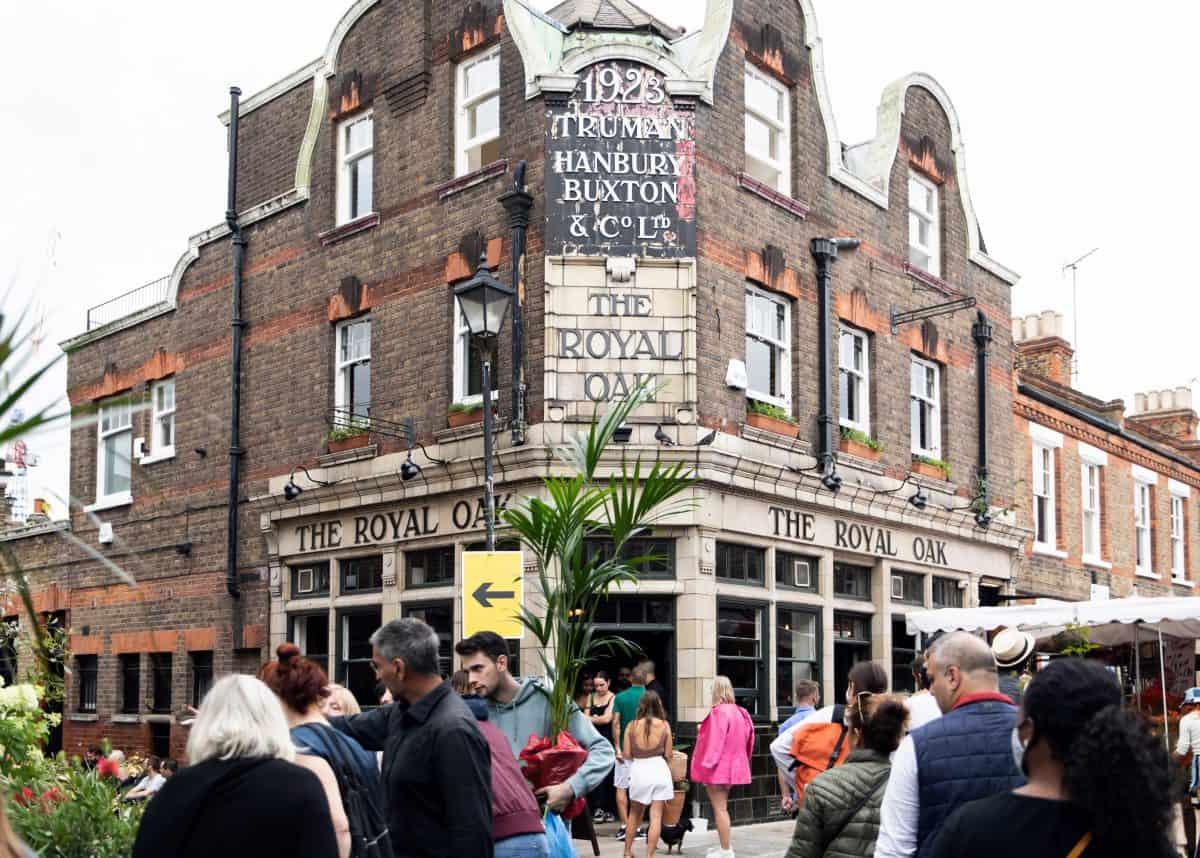 Royal Oak - Columbia Road best pubs in East London