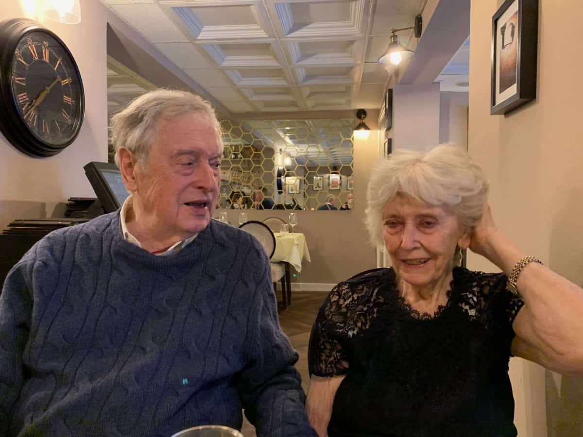 Edward Whitehead, 84, and Rae Duncan Whitehead, 79 (David Whitehead)
