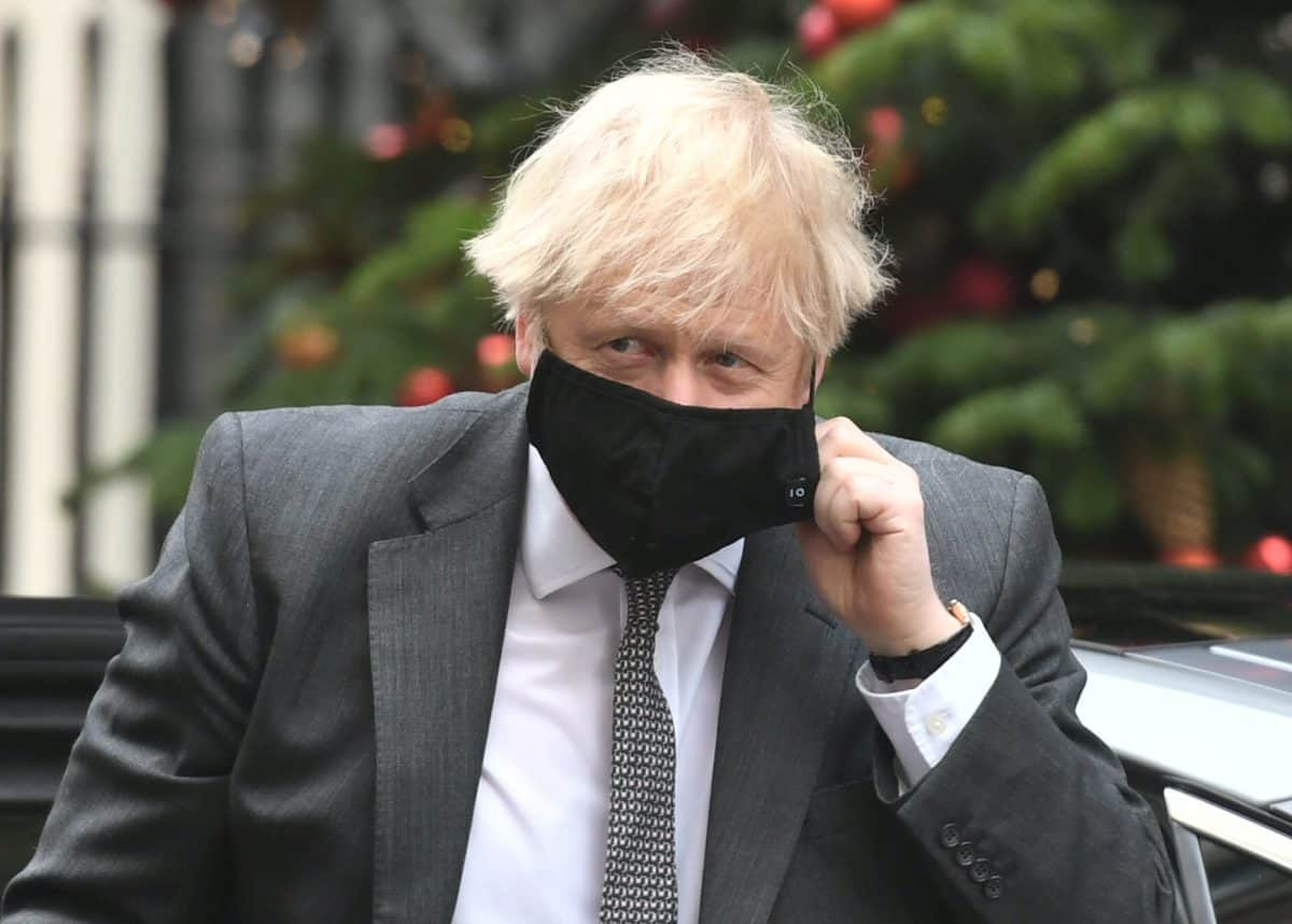 Prime Minister Boris Johnson arriving in Downing Street, London, after attending the debate in the House of Commons on the EU (Future Relationship) Bill.